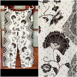 Anthropologie ett:twa Glencairn Cropped Pants M
